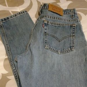 Vintage 80s Levi's 550 high rise mom jeans
